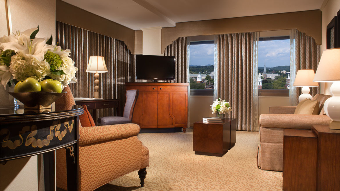 Executive suite at New Haven hotel
