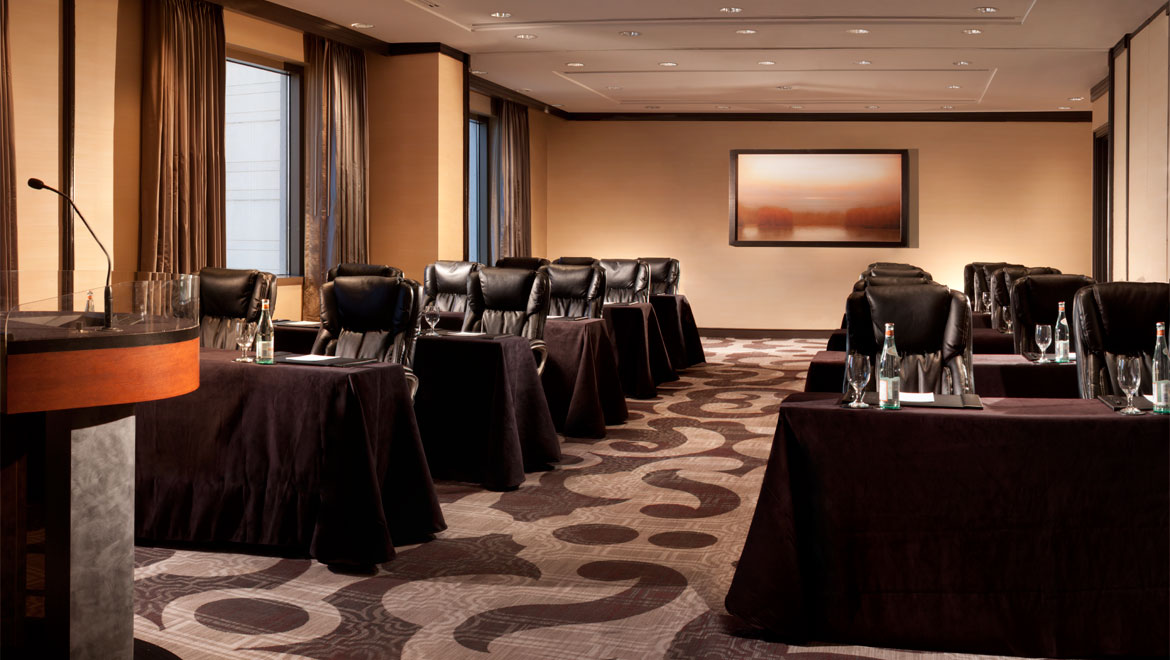Meeting room at Jacksonville Hotel