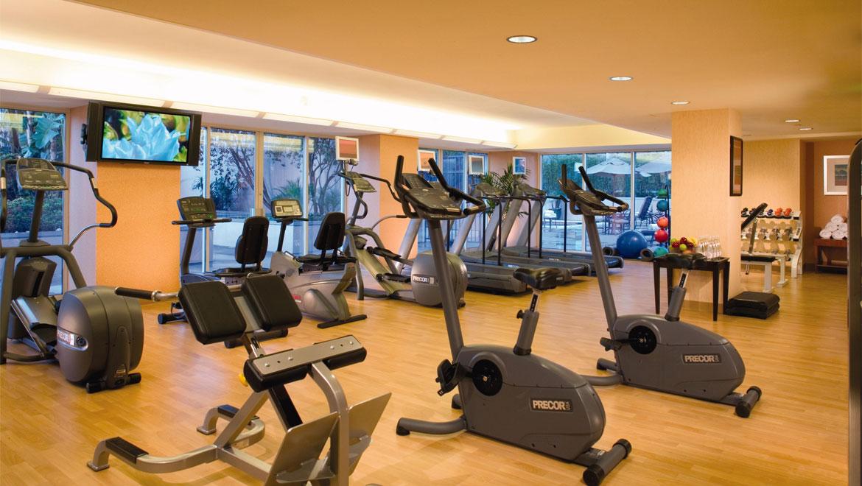 Los angeles fitness center omni hotel at california plaza