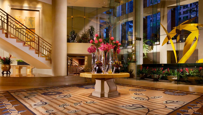 Los Angeles Hotel Lobby