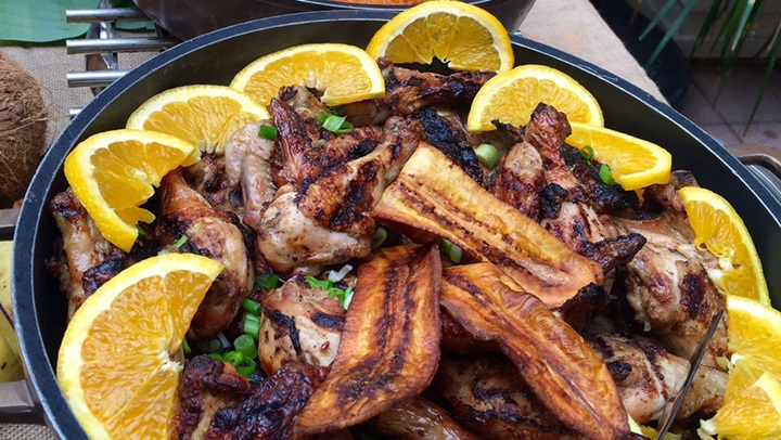 Caribbean barbecue