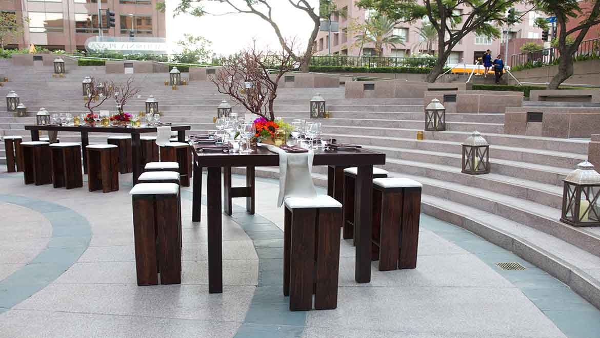 Water Court Plaza Wedding Reception