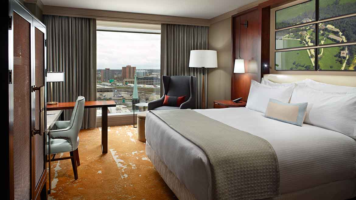Louisville Luxury Suites Omni Louisville Hotel