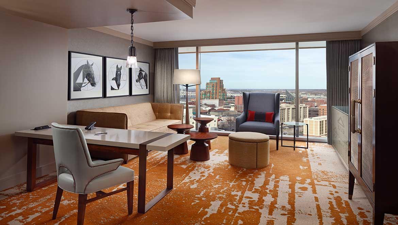 Louisville Luxury Suites Omni Louisville Hotel