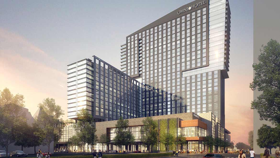 Rendering of Omni Louisville Hotel