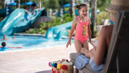 Omni Orlando Resort Kids Pool and Slides