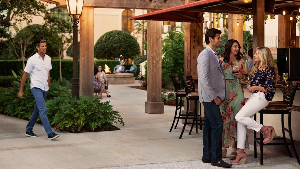 Outdoor Dining Orlando Omni Orlando Resort At Championsgate
