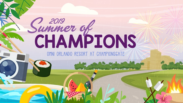 Summer of Champions at Omni Orlando Resort