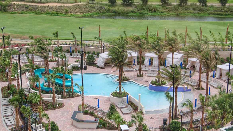 Kids Pool And Pool Slides Omni Orlando Resort At