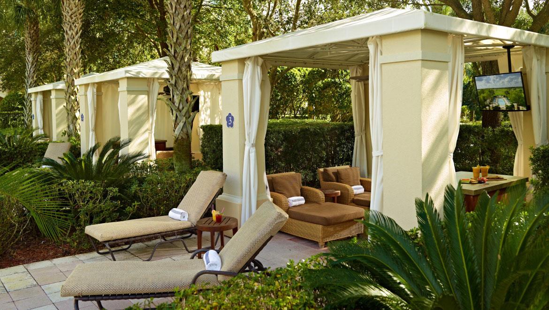 Private Cabanas Orlando Omni Orlando Resort At Championsgate