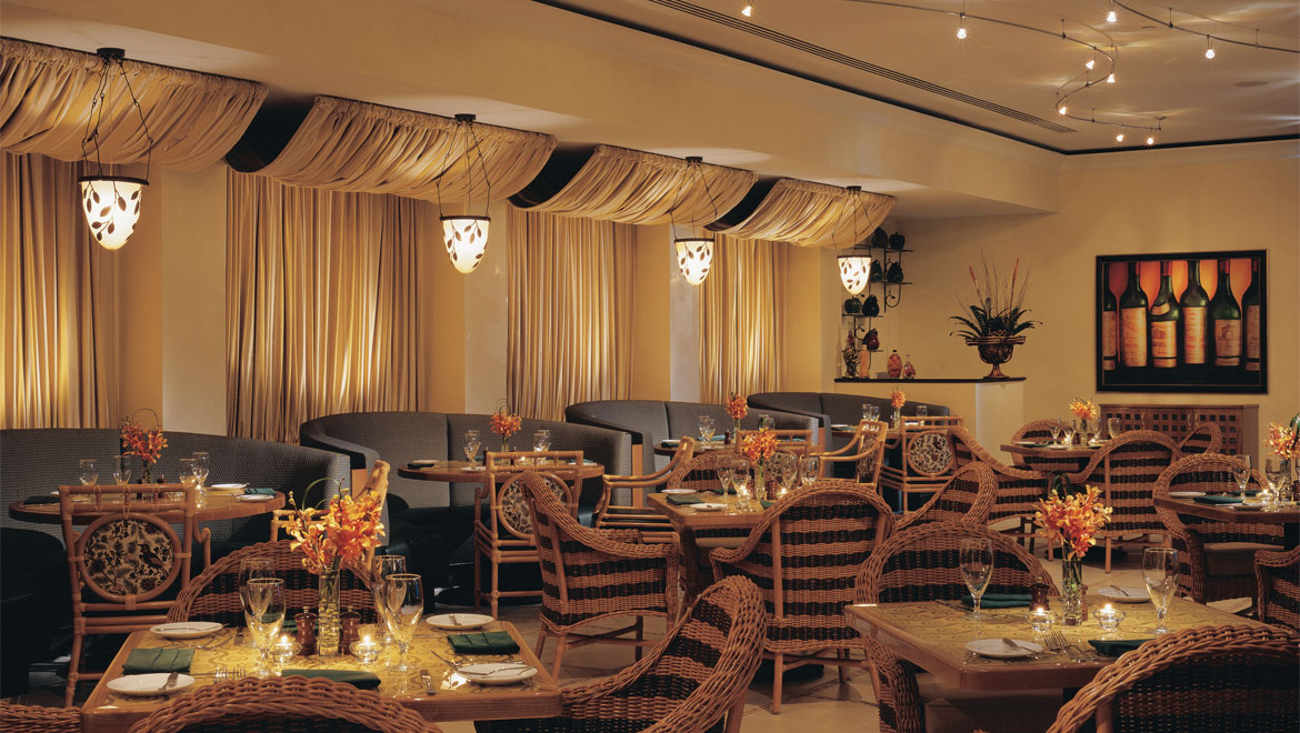 Trevis Restaurant seating
