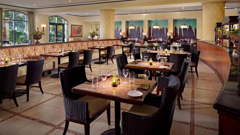 Orlando Restaurant Trevis Italian Omni Orlando Resort