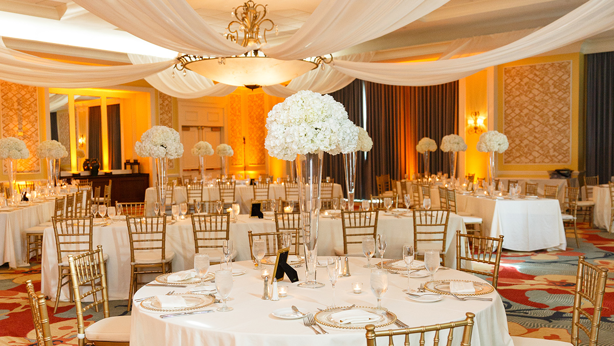 White and Gold Reception in ChampionsGate Room