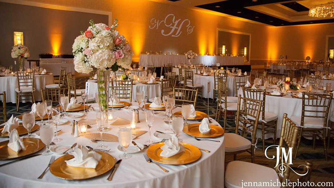A Golden Wedding Reception