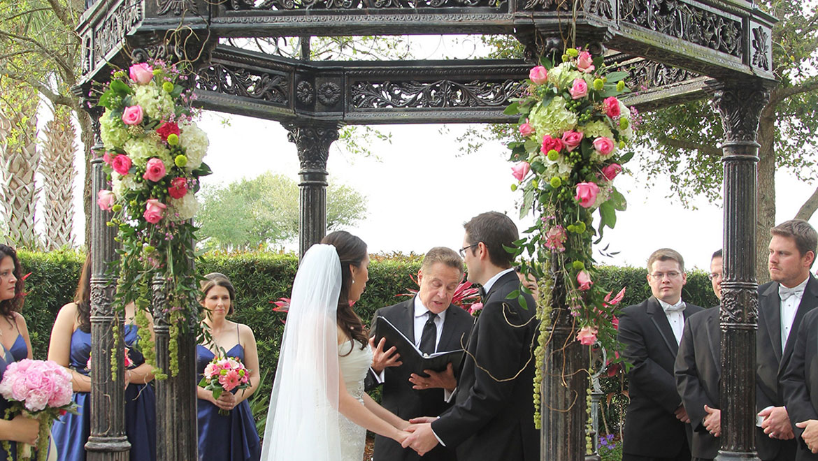 Blissful Wedding Under the Gazebo