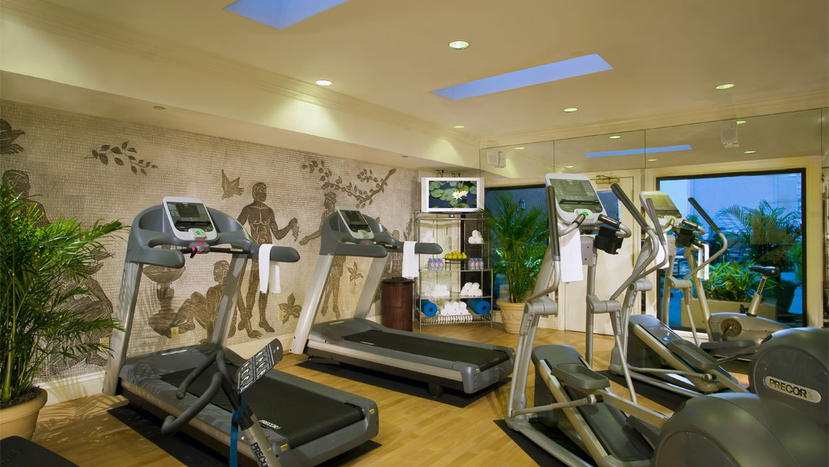 Royal Crescent fitness center