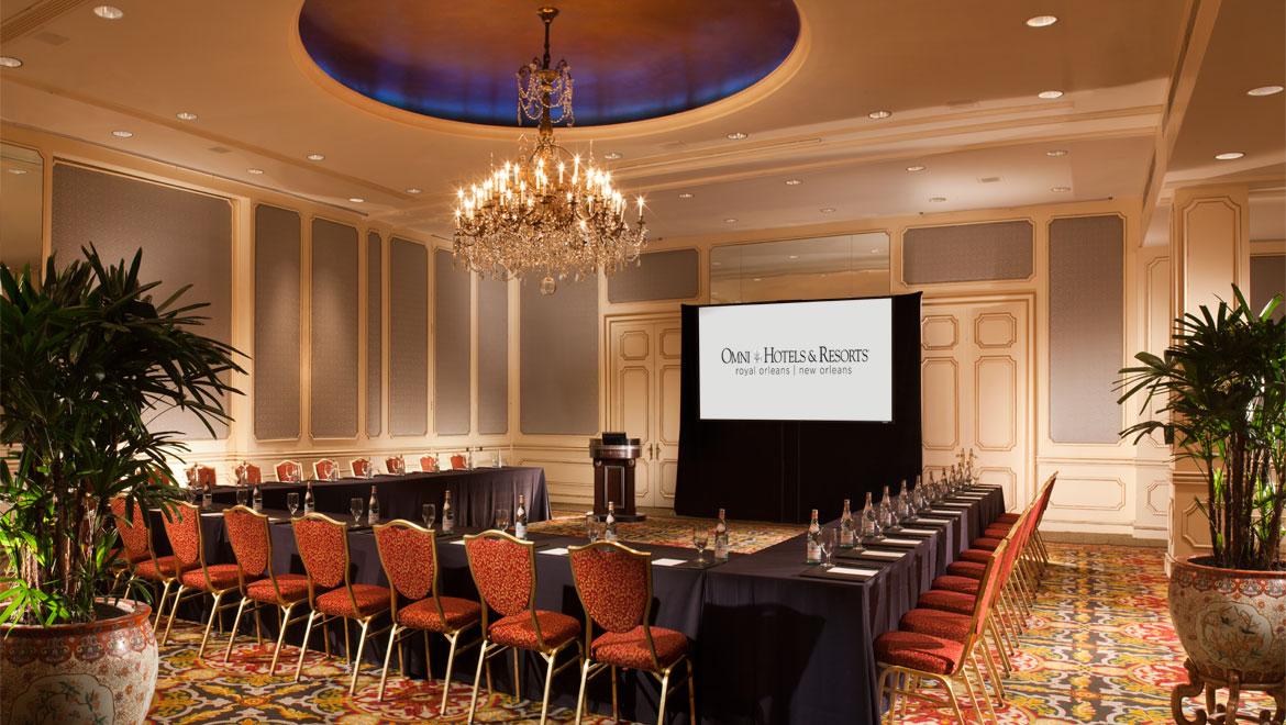 New orleans meeting space omni royal orleans for Orleans salon