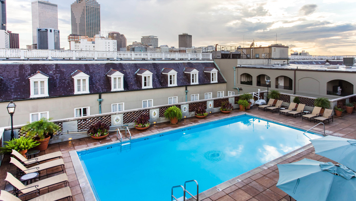 Hotels In New Orleans >> New Orleans Hotels With Pool Omni Royal Orleans