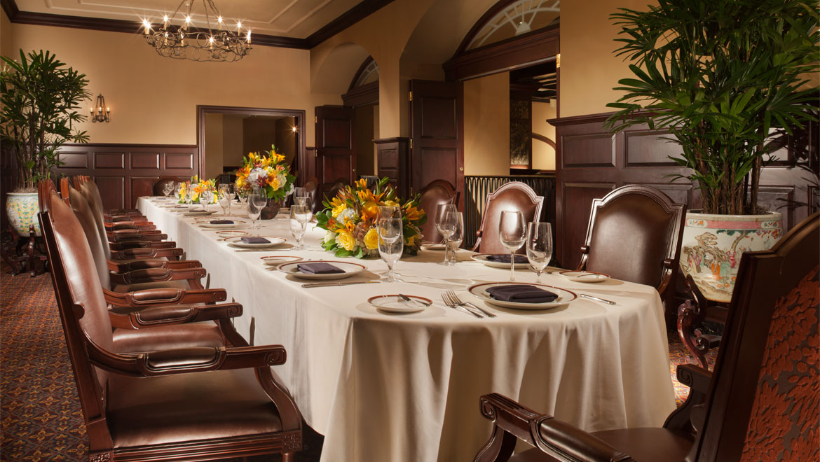 Royal Orleans Escoffier Dining Room