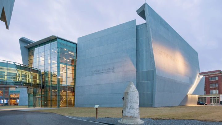 World War Two Museum Exterior