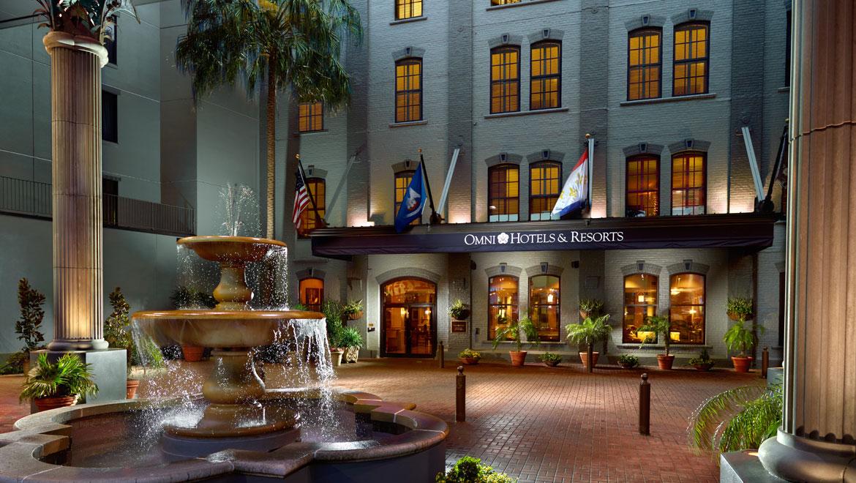 Garden District New Orleans Hotels Omni Riverfront Hotel E