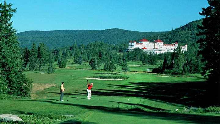 Golf at Mount Washington