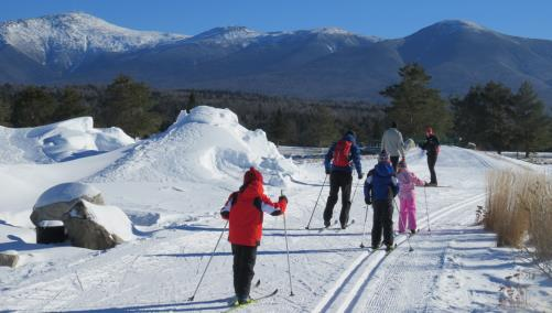 Group Nordic Skiing
