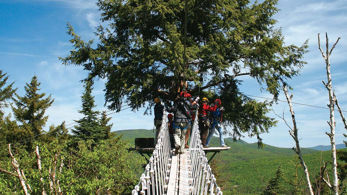 Canopy Tour at Mount Washington