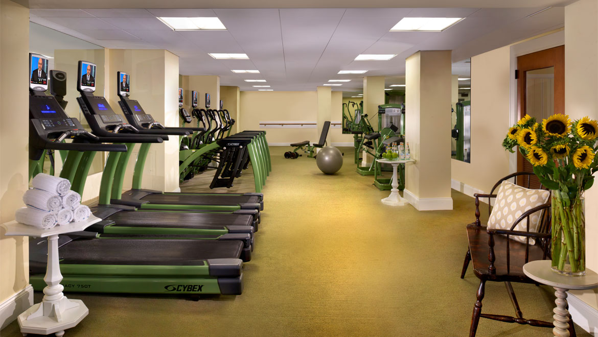 Mount Washington Resort fitness center