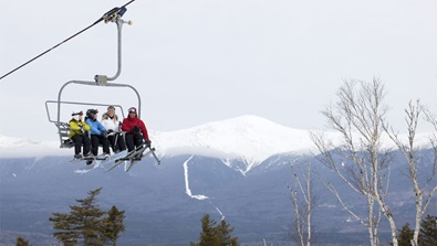 Ski lift at Mount Washington