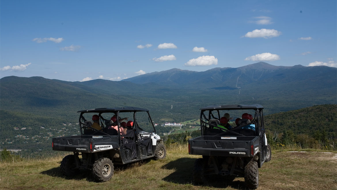 Ranger mountain tour at Mount Washington