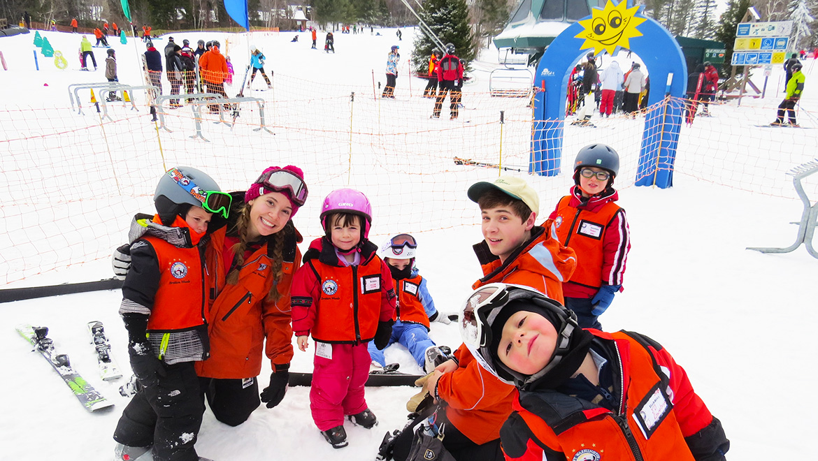 Award-winning kid's ski programs