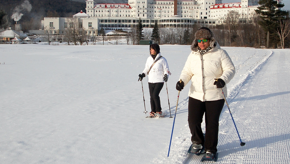 Snowshoeing at Mount Washington