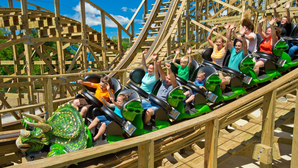 A Summer Trip To New Hampshire S White Mountains Wouldn T Be Complete Without Visit Story Land