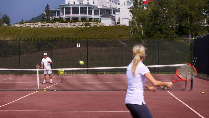 Tennis at Mount Washington