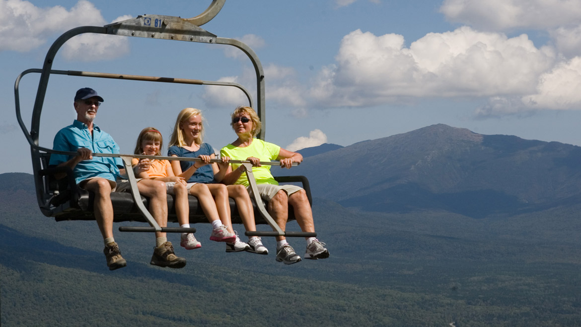 Scenic Lift Rides over the Mountain