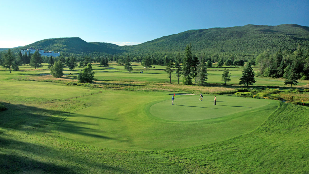 Mount Washington Resort golf course