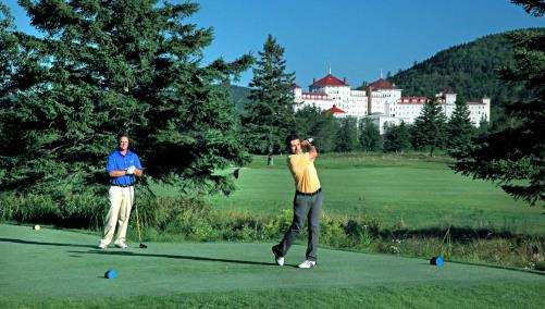 Golf course at Mount Washington