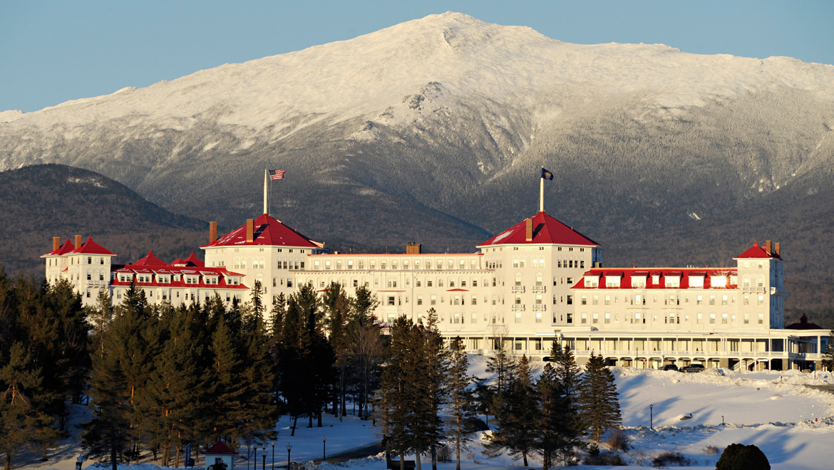 Winter at Mount Washington