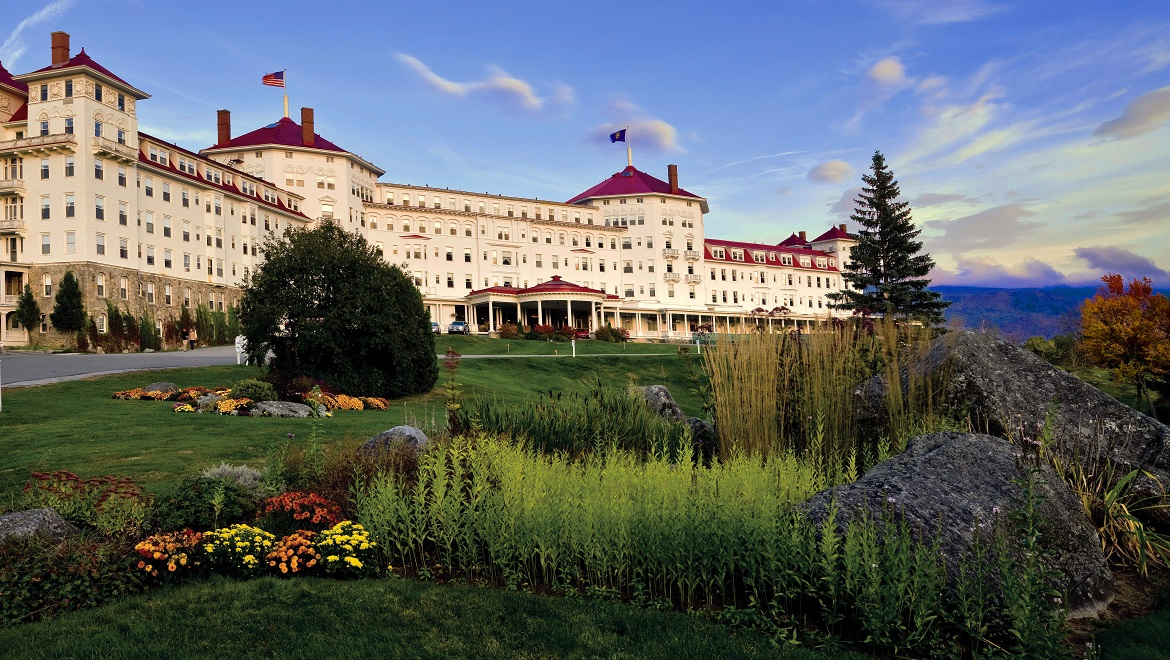 Omni Mount Washington Resort in the Summer