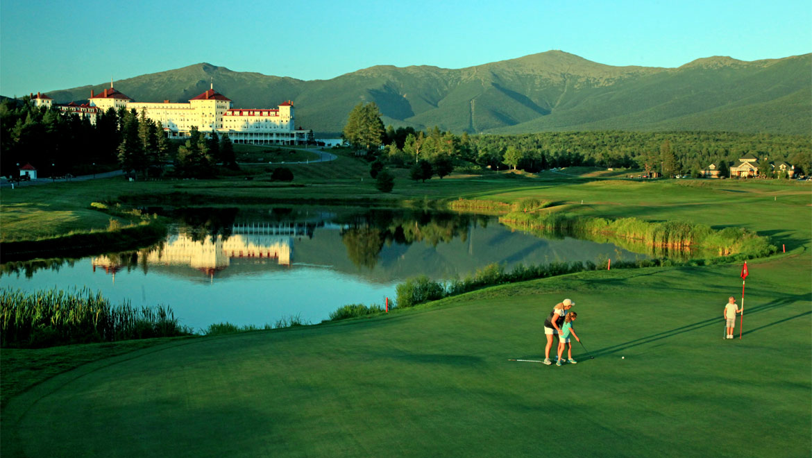 Golf course in Bretton Woods