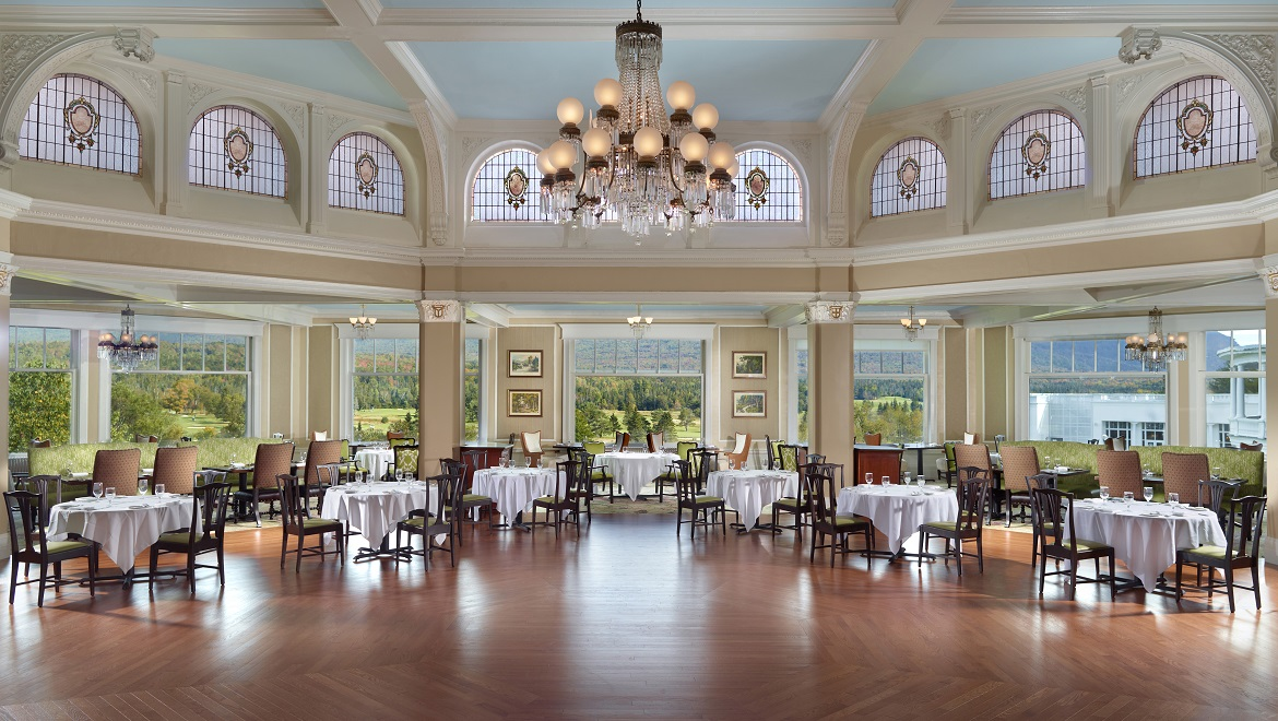 Superbe MAIN HOTEL DINING ROOM AT OMNI MOUNT WASHINGTON