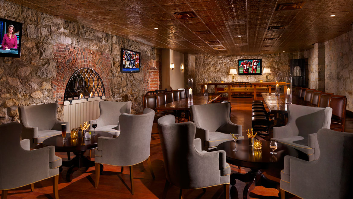 Mt washington bars the cave omni mount washington for W hotel in room dining menu