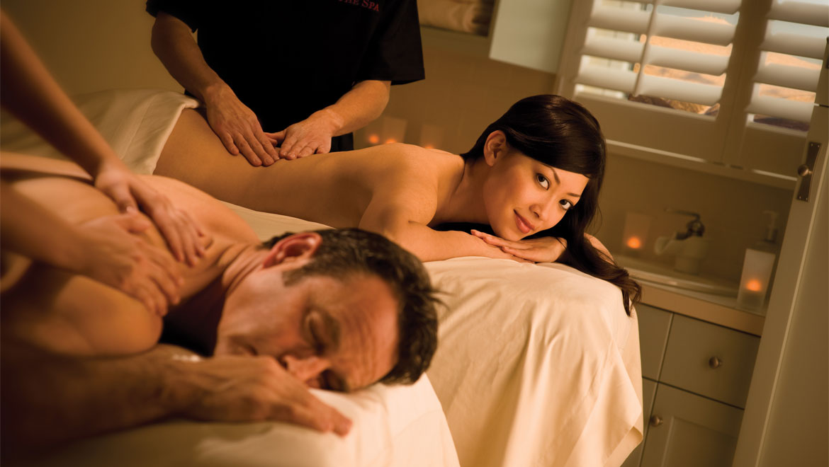 Couples massage at Mount Washington