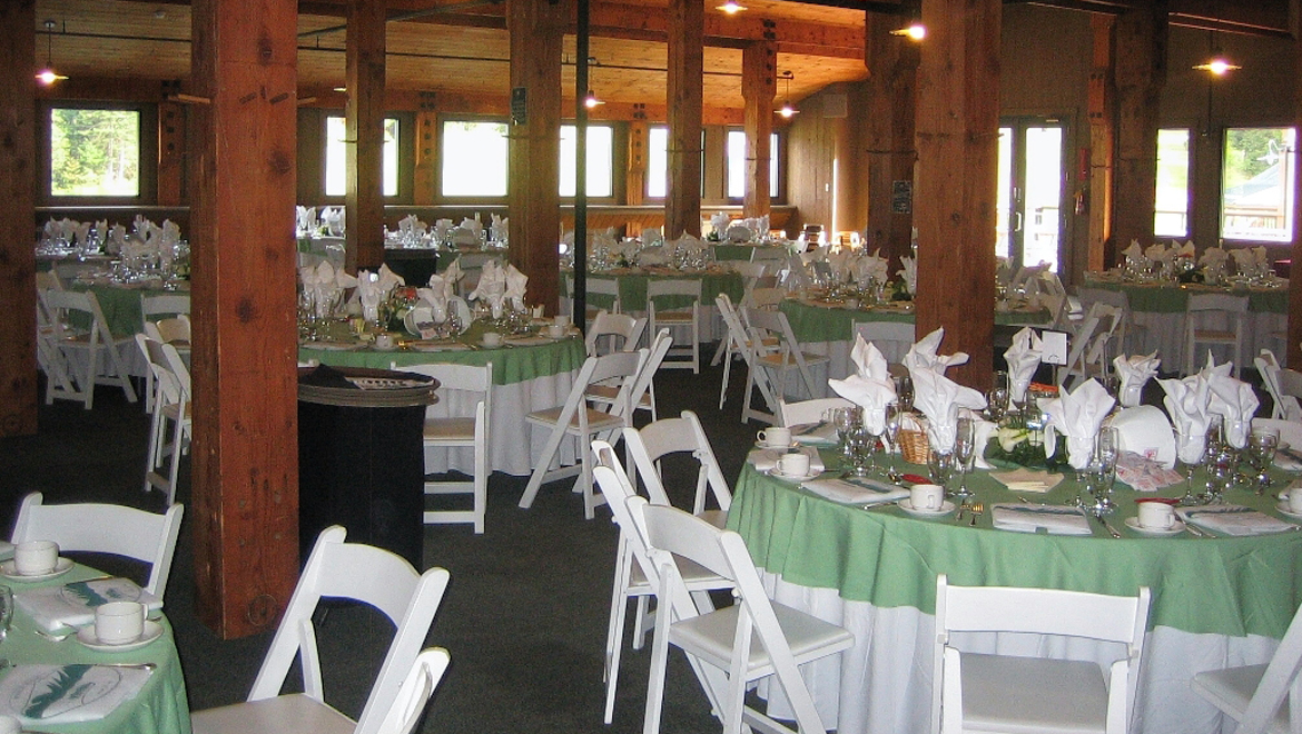 Base Lodge Wedding Reception