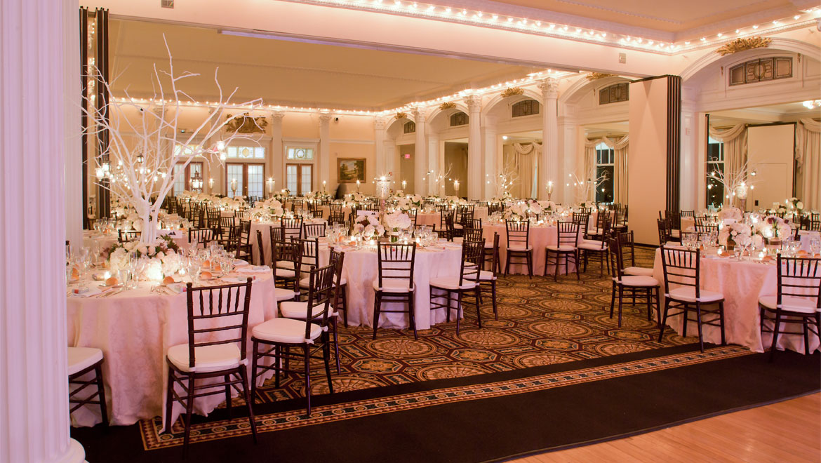 Wedding reception at Mount Washington
