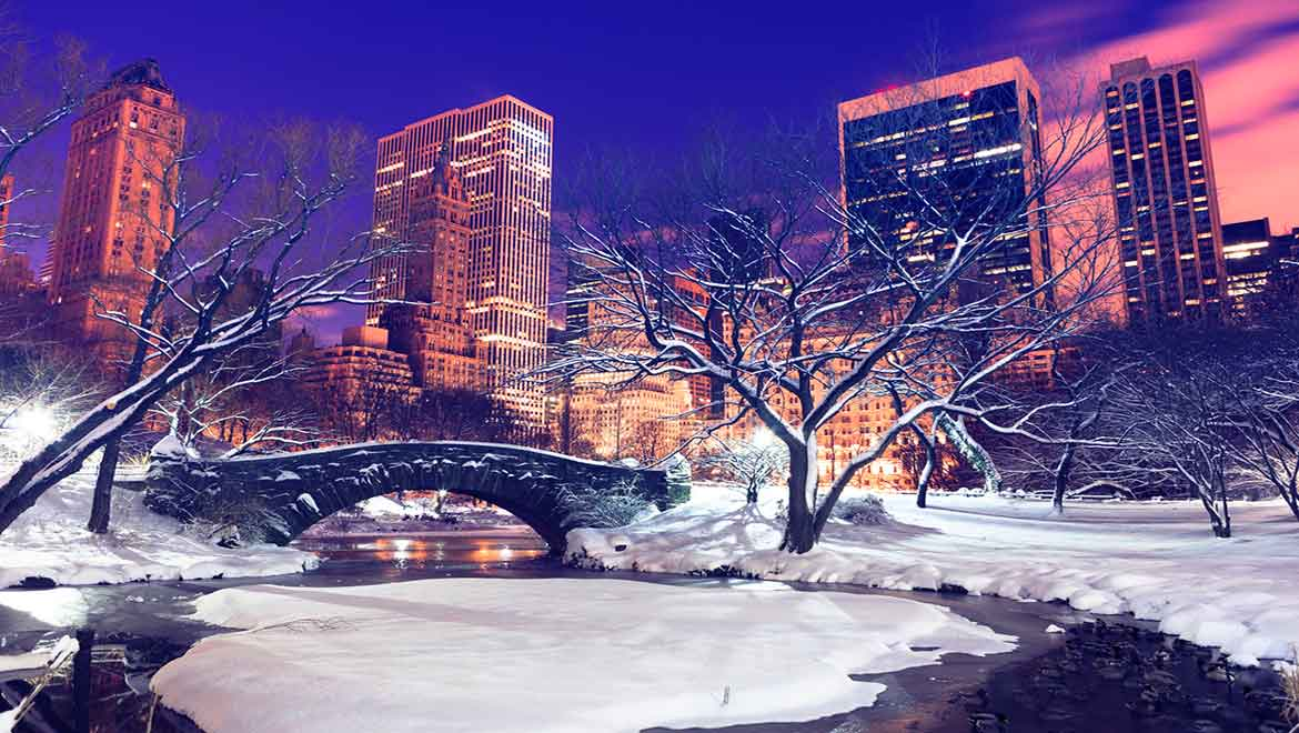 Hotels near central park omni berkshire place for New york winter things to do