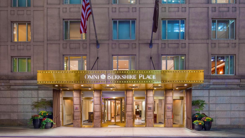Omni Berkshire Place Hotel History
