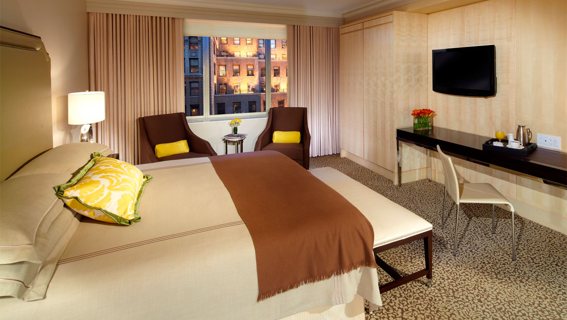 Luxury New York City Guest Rooms