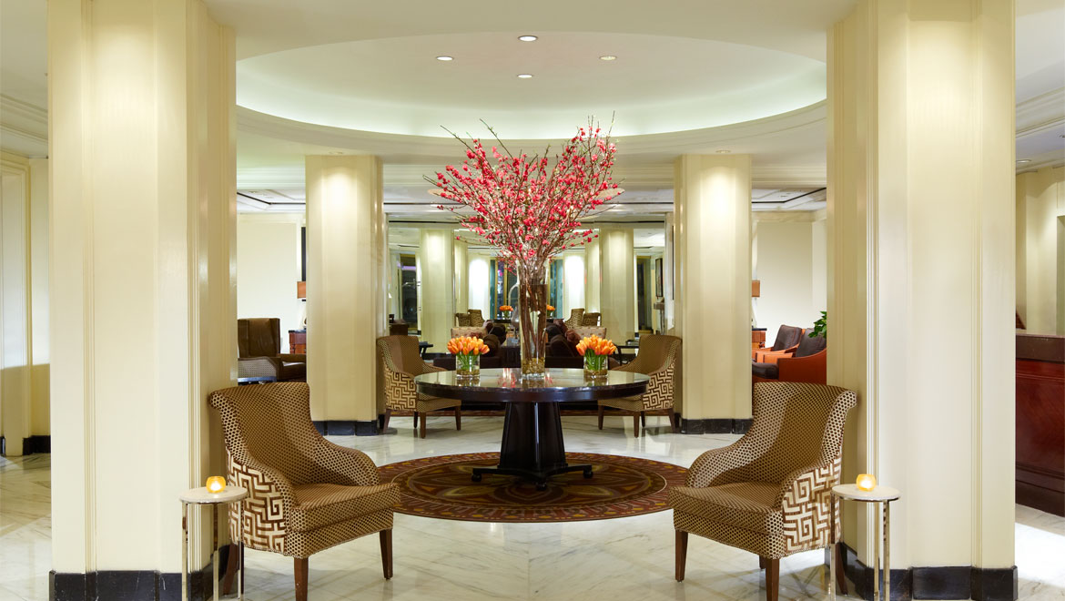 Berkshire Place main lobby